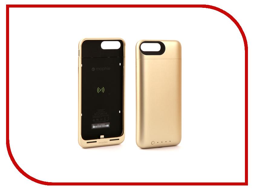 все цены на  Аксессуар Чехол-аккумулятор Mophie Juice Pack Air 2420 mAh для APPLE iPhone 7 Plus Gold 3973  онлайн