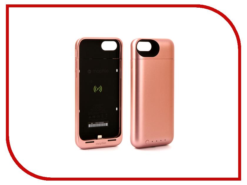 все цены на  Аксессуар Чехол-аккумулятор Mophie Juice Pack Air 2525 mAh для APPLE iPhone 7 Rose Gold 3969  онлайн