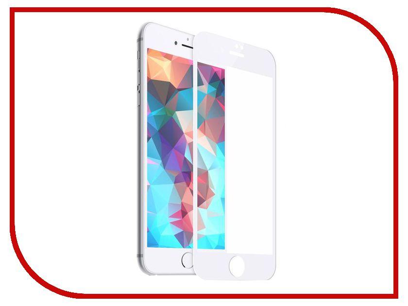 Аксессуар Защитное стекло Hardiz Premium Tempered Glass 3D Cover для APPLE iPhone 8 Plus White HRD181300 аксессуар защитное стекло monsterskin 5d для apple iphone 6 plus white