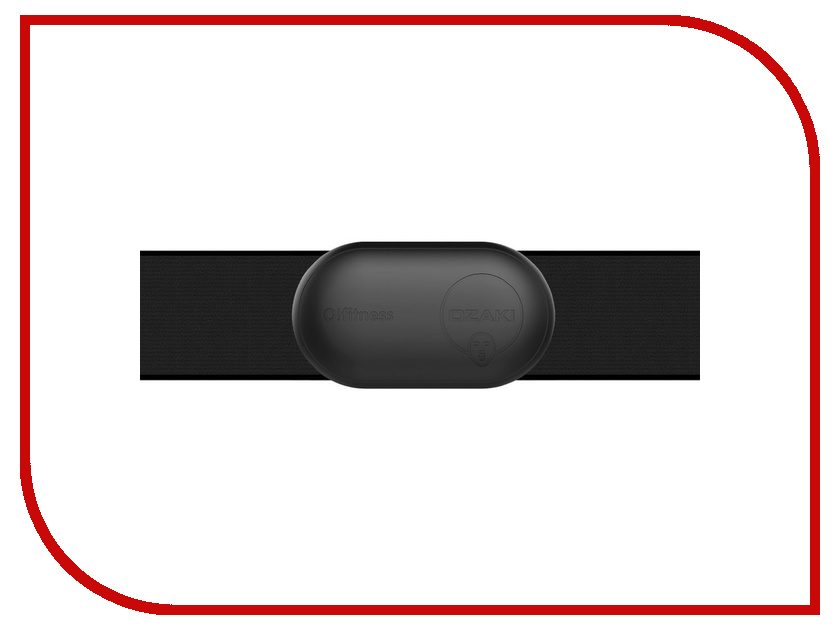 Кардиодатчик Ozaki O!Ffitness Fatburn Black OF021BK чехол накладка для iphone 6 ozaki o coat 0 3 jelly oc555tr пластик прозрачный