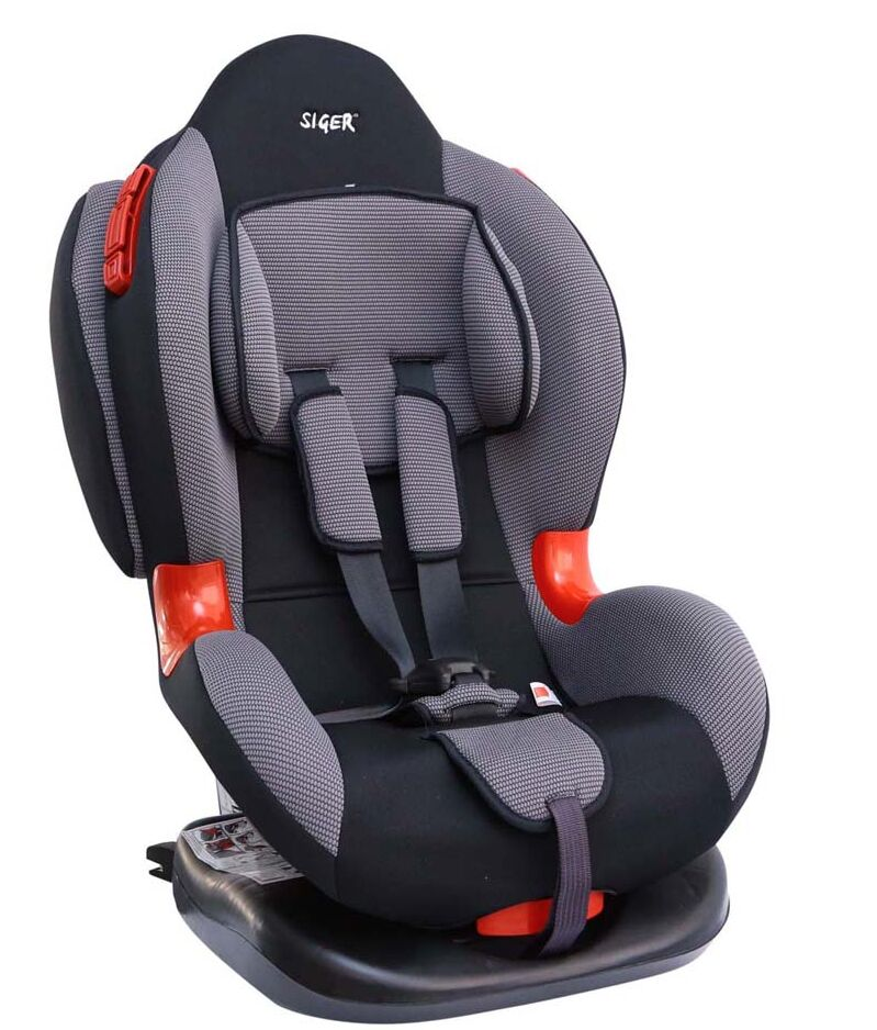 Автокресло Siger Кокон Isofix группа 1/2 Grey КРЕС0119 автокресло sweet baby gran cruiser isofix grey black 386 012
