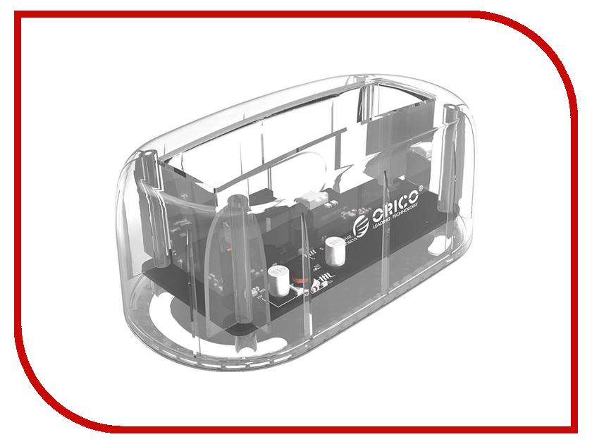 Аксессуар Док-станция для HDD Orico 6139C3-CR кабели orico кабель microusb orico adc 10