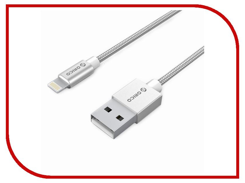 Аксессуар Orico USB -Lightning 1m Silver IDC-10-SV