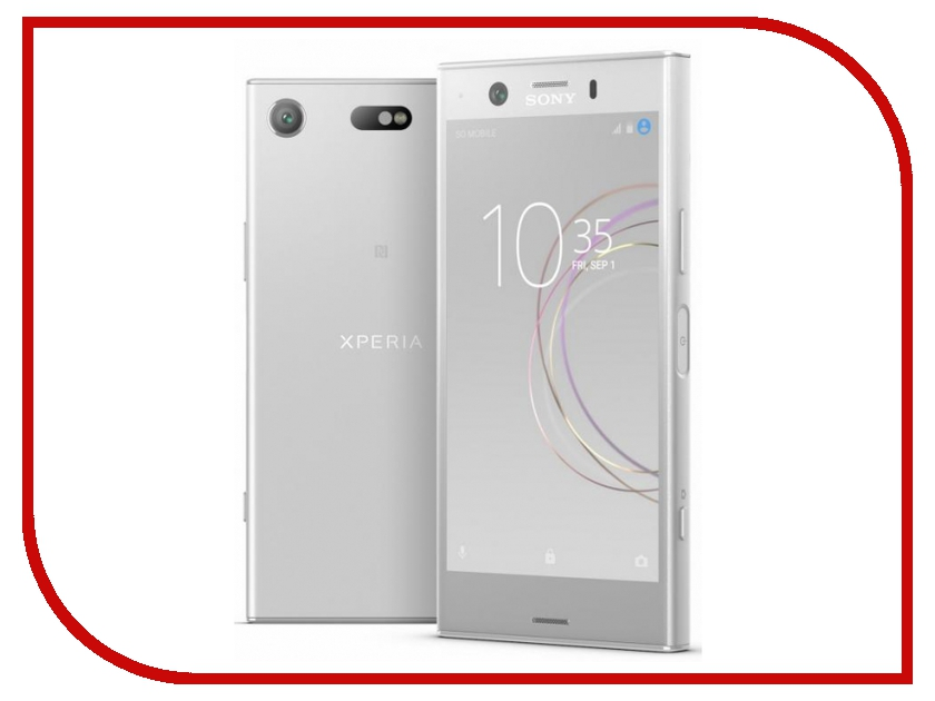 Сотовый телефон Sony G8441 Xperia XZ1 Compact Silver сотовый телефон sony f5321 xperia x compact black