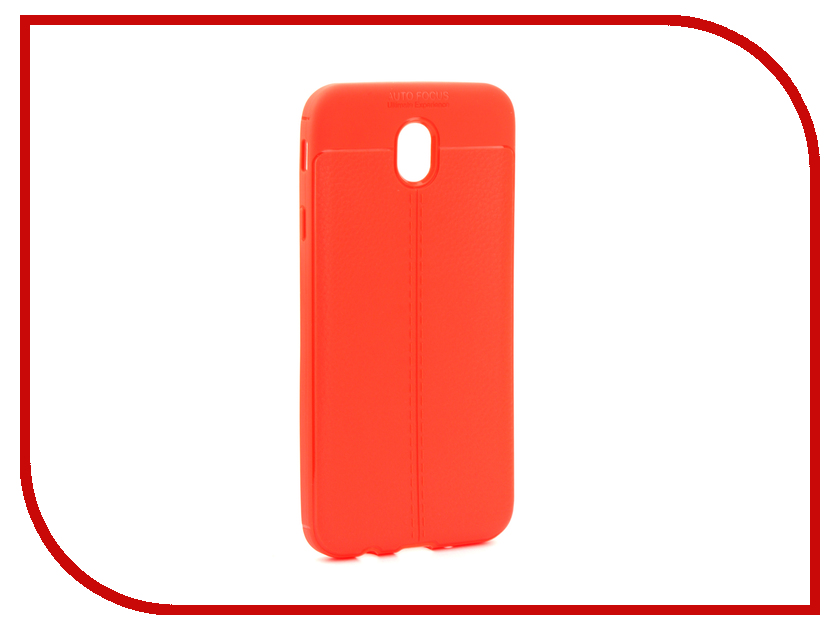 Аксессуар Чехол Samsung SM-J730 Galaxy J7 2017 Activ The Ultimate Experience Leather Red 75641 аксессуар чехол накладка micromax canvas viva a106 activ silicone black mat 46857