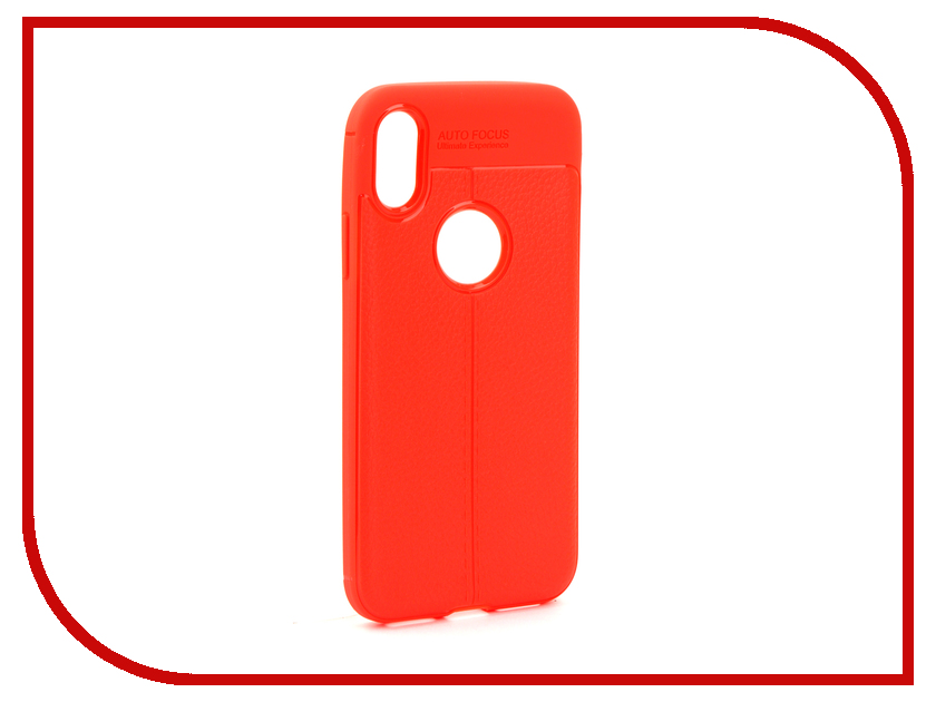 Аксессуар Чехол Activ The Ultimate Experience Leather для APPLE iPhone X Red 75626 аксессуар чехол накладка micromax canvas viva a106 activ silicone black mat 46857