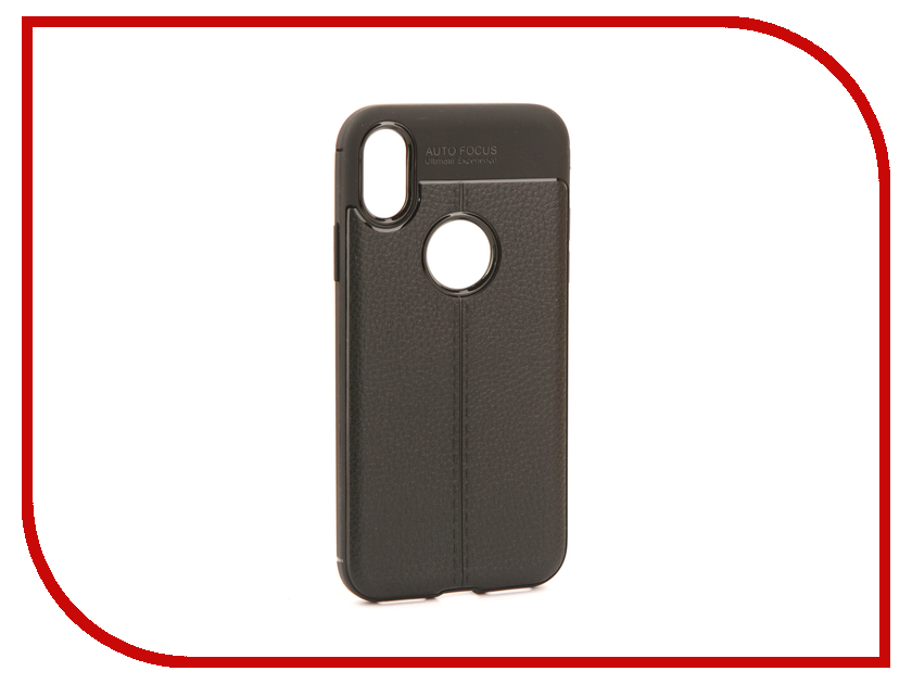 Аксессуар Чехол Activ The Ultimate Experience Leather для APPLE iPhone X Black 75624 аксессуар чехол накладка micromax canvas viva a106 activ silicone black mat 46857