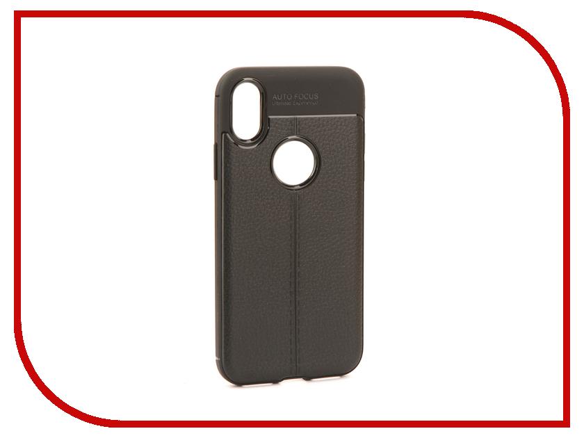 все цены на Аксессуар Чехол Activ The Ultimate Experience Leather для APPLE iPhone X Black 75624 онлайн
