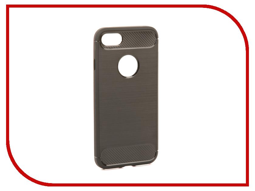 Аксессуар Чехол Activ The Ultimate Experience Carbon для APPLE iPhone 7/8 Black 75610 аксессуар защитное стекло activ 3d red для apple iphone 7 plus 69759