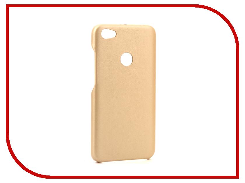 Аксессуар Чехол Xiaomi Redmi Note 5A G-Case Slim Premium Gold GG-888 888 ultra