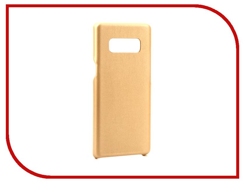 Аксессуар Чехол Samsung Galaxy Note 8 G-Case Slim Premium Gold GG-868 868
