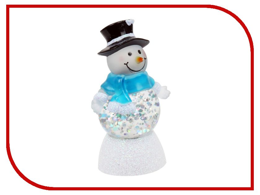 Новогодний сувенир Снеговик Мистер-твистер Orient NY6007<br>