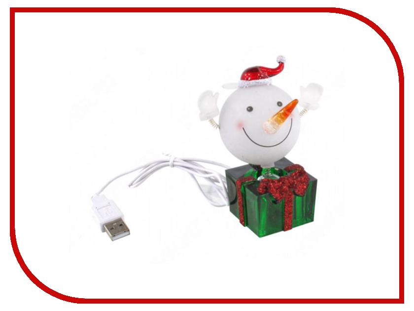 Новогодний сувенир Снежок с подарком Orient NY5184