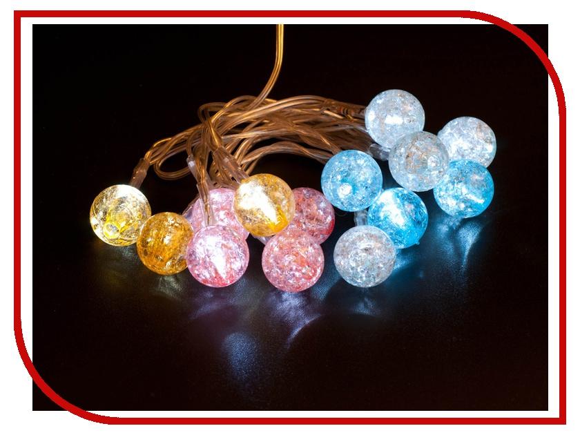 Гирлянда Orient Разноцветные шарики светодиодная от USB NY1420<br>