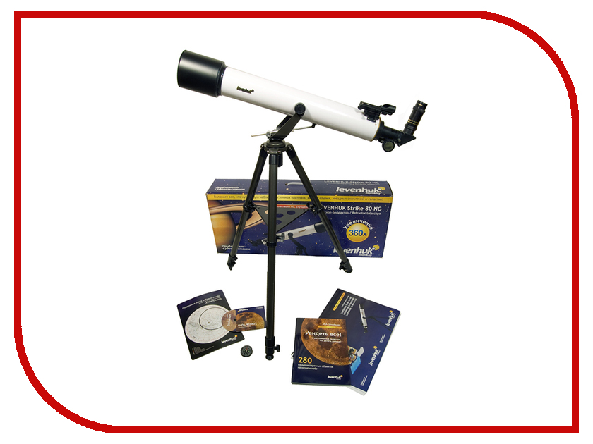 Телескоп Levenhuk Strike 80 NG телескоп levenhuk телескоп strike 80 ng 29270 lev29270