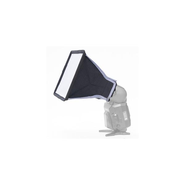 Софтбокс Raylab RPF-SB1014-S Silver для накамерной вспышки поводок рулетка усиленная пижон 8м красная