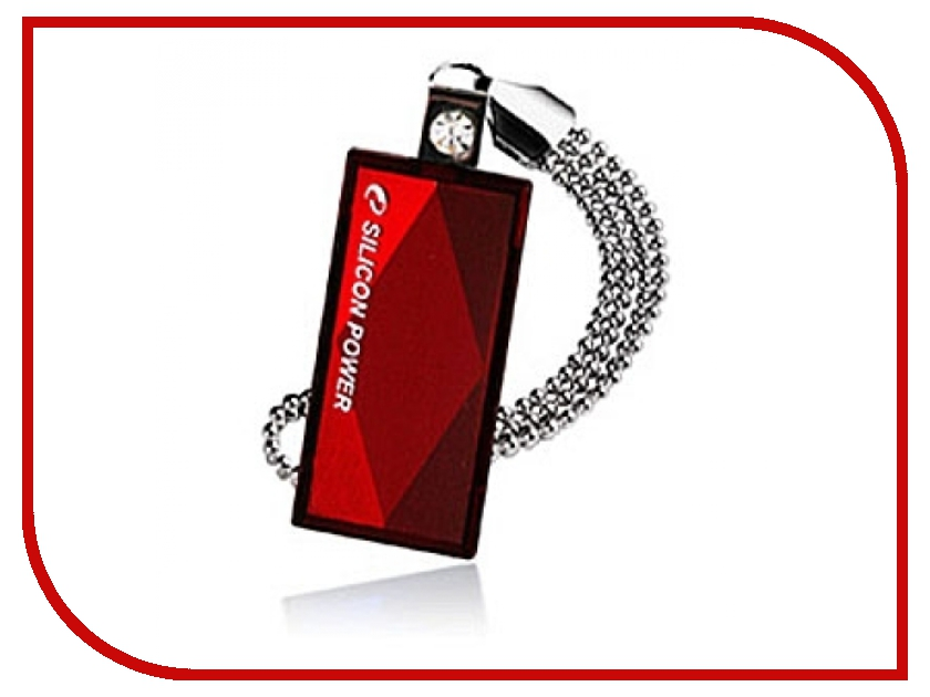 USB Flash Drive 32Gb - Silicon Power Touch 810 Red SP032GBUF2810V1R