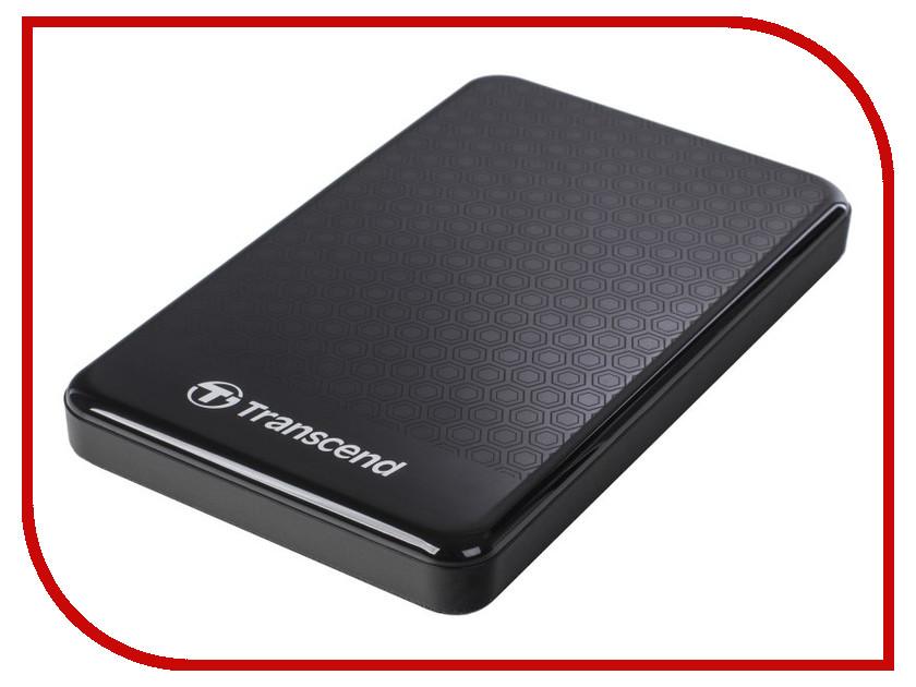 внешние HDD/SSD TS1TSJ25A3K  Жесткий диск Transcend StoreJet 25A3 1Tb TS1TSJ25A3K