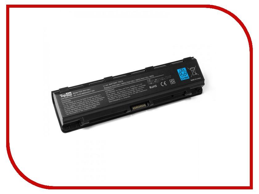Аккумулятор TopON TOP-PA5109U-1BRS 10.8V 6600mAh для Toshiba C40/C45/C50 / Satellite C50T/C70/Pro C70/C75 Series