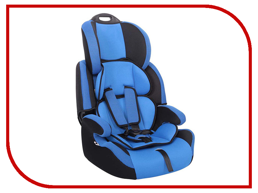 Автокресло группа 1/2/3 (9-36 кг) Siger Стар Blue автокресло kiddy guardianfix 3 группа 1 2 3 mountain blue