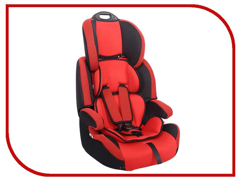Автокресло группа 1/2/3 (9-36 кг) Siger Стар Isofix Red