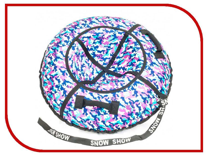 Тюбинг SnowShow Стандарт 90cm Khaki Pink