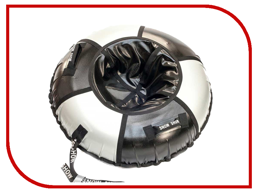 Тюбинг SnowShow Практик 90cm Black-Silver