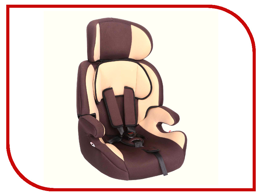 Автокресло Zlatek Фрегат группа 1/2/3 Brown KRES0484