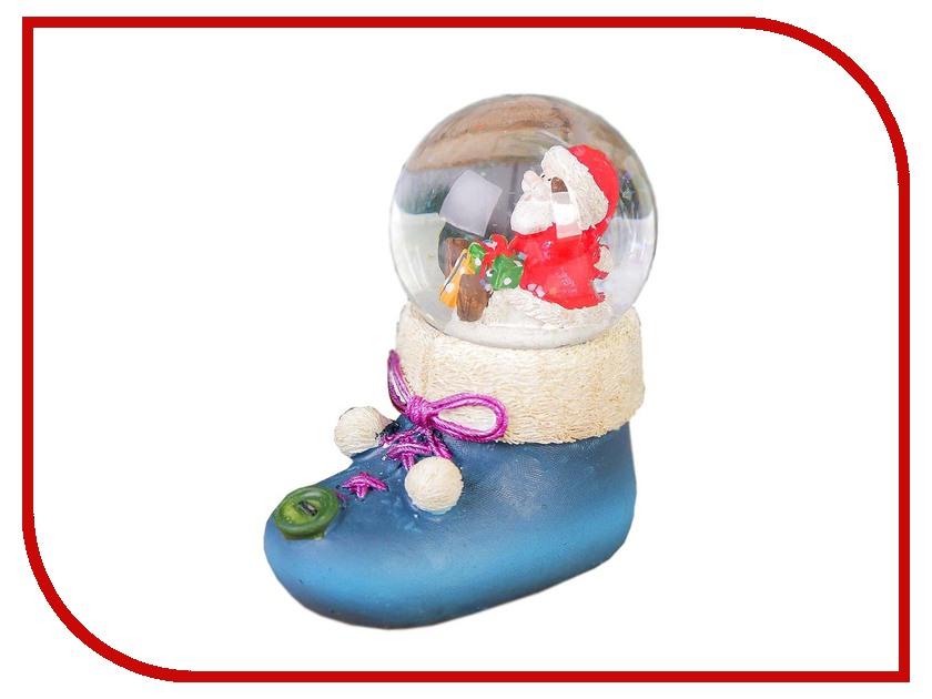 Снежный шар СИМА-ЛЕНД Дед Мороз в башмаке 186958 салфетница сима ленд хрюша и дед мороз 3789374