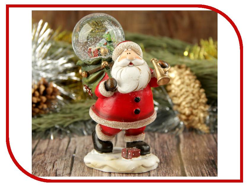 Новогодний сувенир СИМА-ЛЕНД Дед Мороз идёт к нам в гости 2005339 новогодний сувенир luazon дед мороз под елкой 1353359