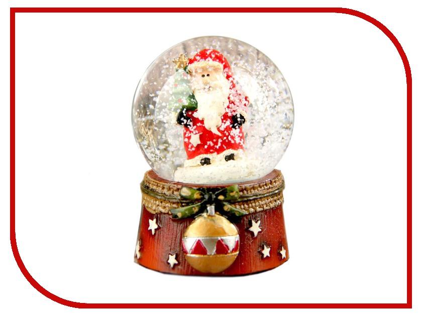 Снежный шар СИМА-ЛЕНД Дед Мороз с шариком 2005329 салфетница сима ленд хрюша и дед мороз 3789374