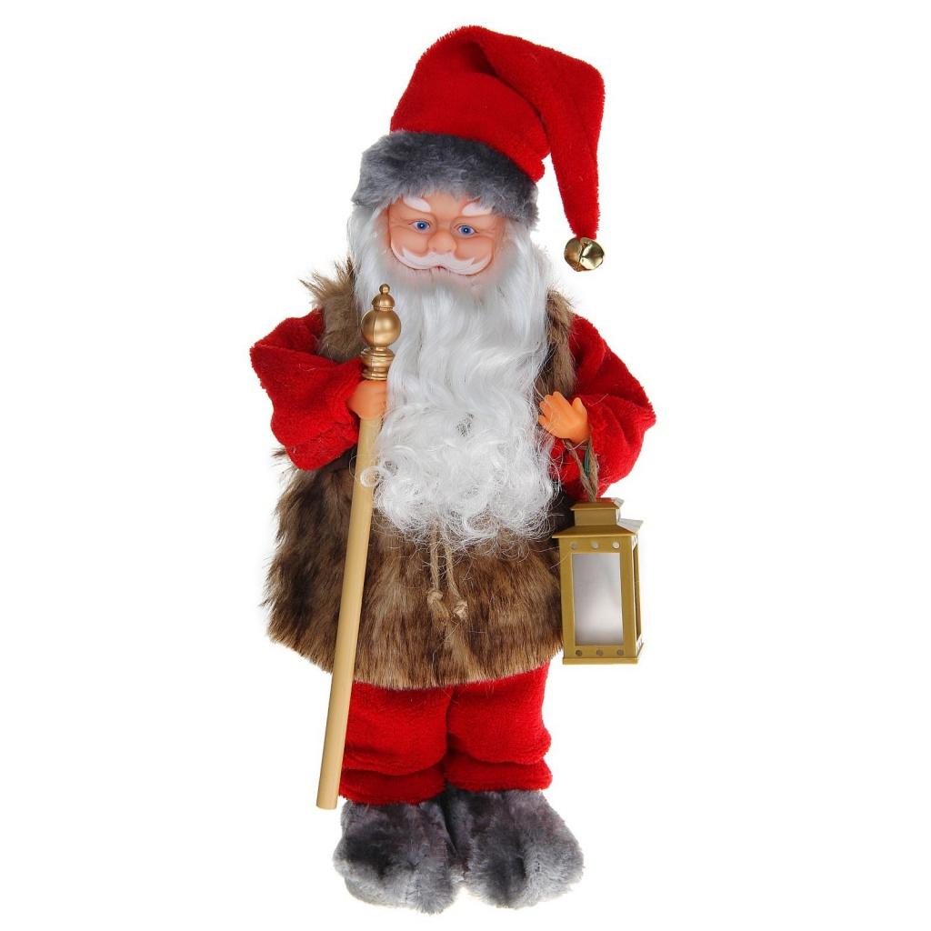 Игрушка СИМА-ЛЕНД Дед Мороз с фонарём 1111413