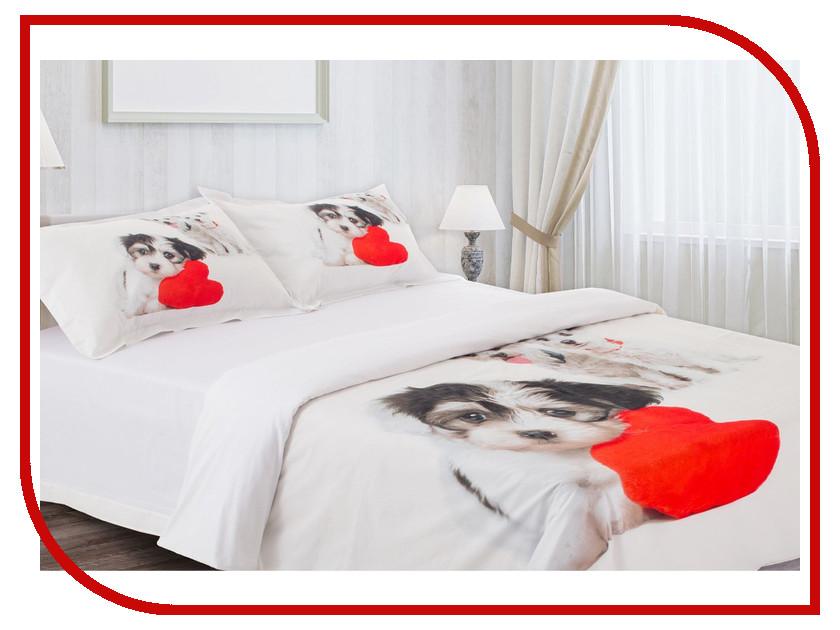 Постельное белье Этель 3D Любовь Комплект Евро Хлопок 842889 постельное белье евро кпб любовь