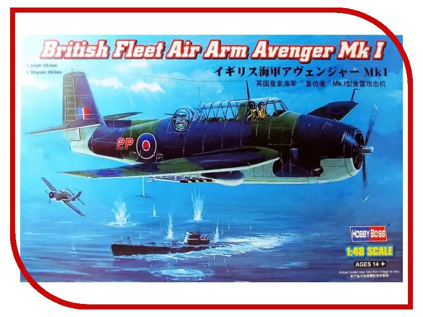 Сборная модель Hobby Boss British Fleet Air Arm Avenger Mk I 80331 boss bo246emssc14 boss