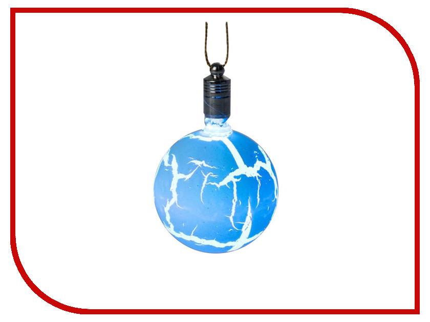 Украшение Luazon Елочный шар узоры краской RGB Blue 2361547 украшение luazon снежинка blue 2314974
