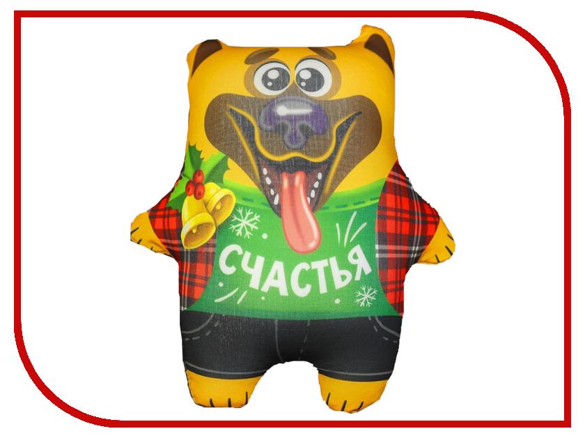 Игрушка антистресс СИМА-ЛЕНД Счастья Песик с подарком 2588156