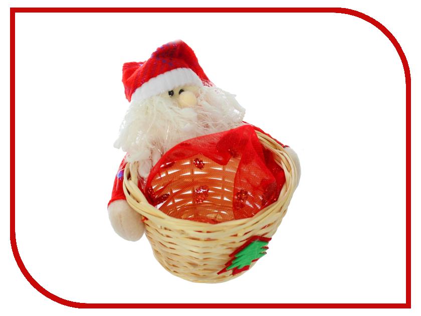 Новогодний сувенир СИМА-ЛЕНД Конфетница Дед Мороз в колпаке 2172684