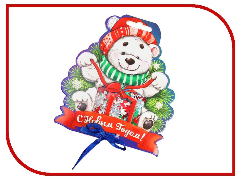 Конфетти Страна Карнавалия С Новым годом! Мишка Mix 2226405 новогодний сувенир страна карнавалия конфетти с новым годом енотик mix 2226407