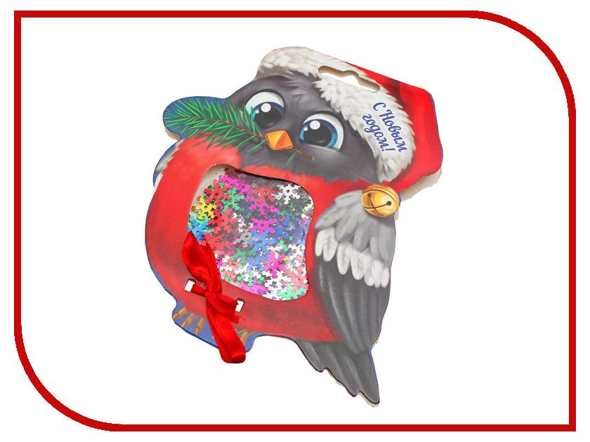 Конфетти Страна Карнавалия С Новым годом! Снегирь 1376110 новогодний сувенир страна карнавалия конфетти с новым годом енотик mix 2226407