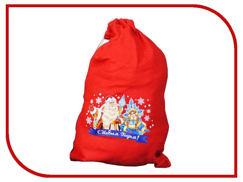 Страна Карнавалия Мешок Деда Мороза С Новым Годом 2226417 упаковка подарочная страна карнавалия карнавал мешок снеговик цвет красный 50 х 70 см
