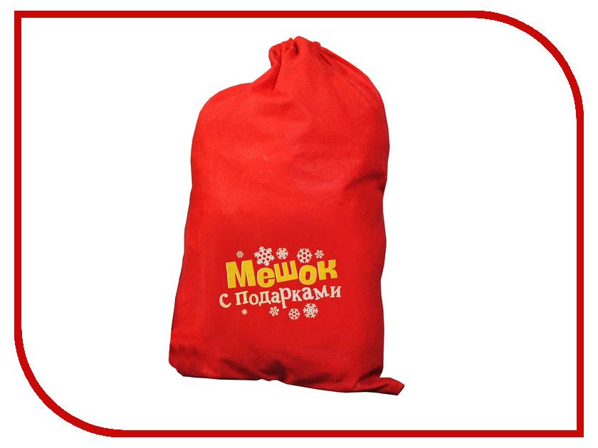 Страна Карнавалия Мешок Деда Мороза Мешок с подарками 1365010 упаковка подарочная страна карнавалия карнавал мешок снеговик цвет красный 50 х 70 см