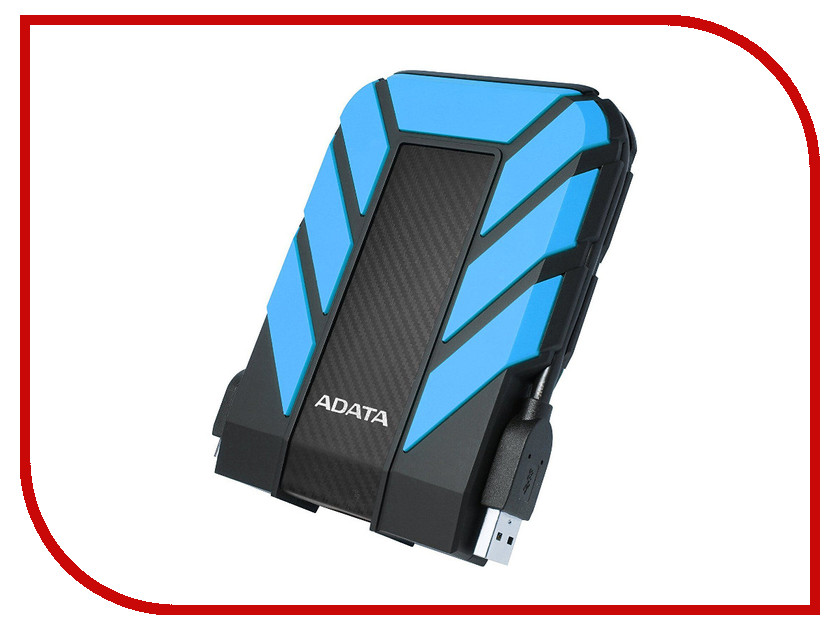 Жесткий диск A-Data DashDrive Durable HD710 Pro 1Tb Blue AHD710P-1TU31-CBL