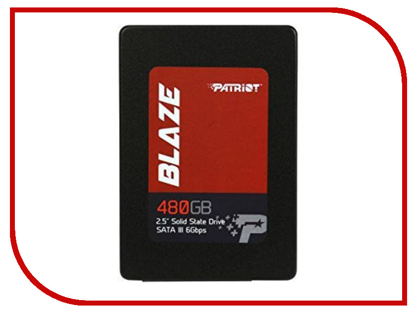 Жесткий диск 480Gb - Patriot Memory Blaze PB480GS25SSDR жесткий диск 240gb patriot hellfire ph240gpm280ssdr