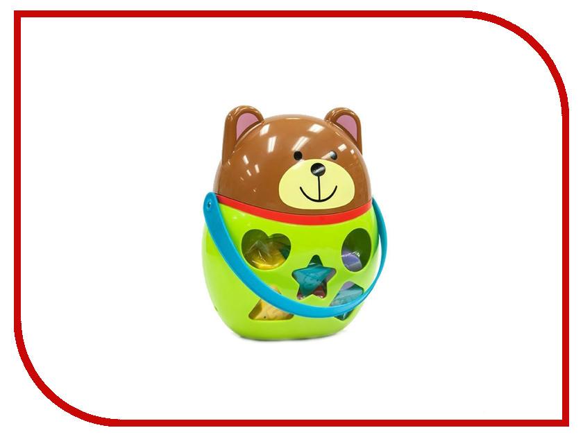 Игрушка Little Hero Сортер Мишка 3015 мячики little hero сенсорные мячики