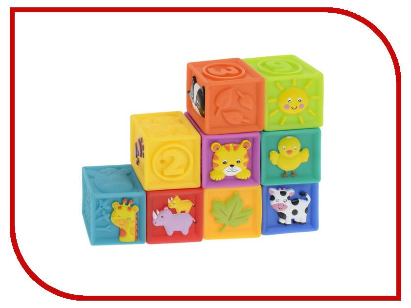 Игрушка Little Hero Мягкие кубики 3043 мячики little hero сенсорные мячики