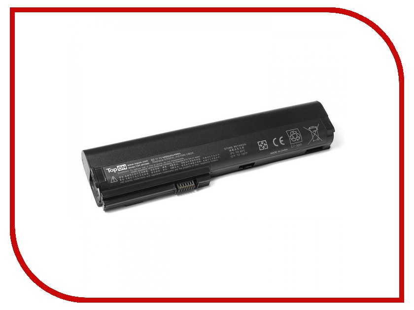 Аккумулятор TopON TOP-HP2560 11.1V 4400mAh для HP EliteBook 2560p/2570p Series 685404 001 laptop motherboard for hp 2570p qm77 j8a ddr3 mainboard full tested