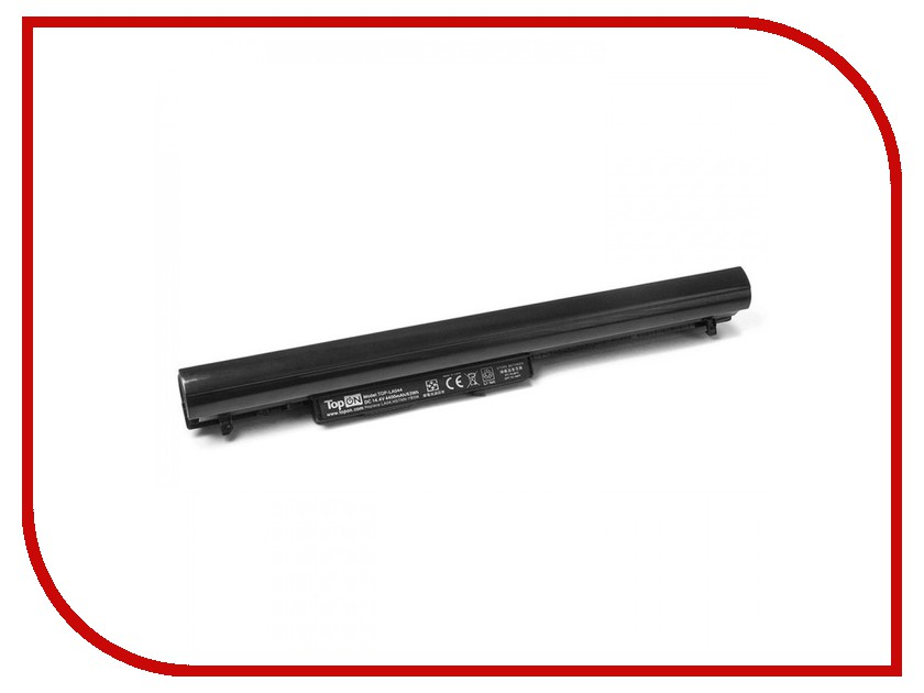 Аккумулятор TopON TOP-LA044 14.4V 4400mAh для HP Pavilion SleekBook 14/14t/14z/15/15-b/15t/15z / Chromebook 14-c000 Series аккумулятор topon top k53 для 10 8v 4400mah pn a32 k53 a42 k53 a43ei241sv sl