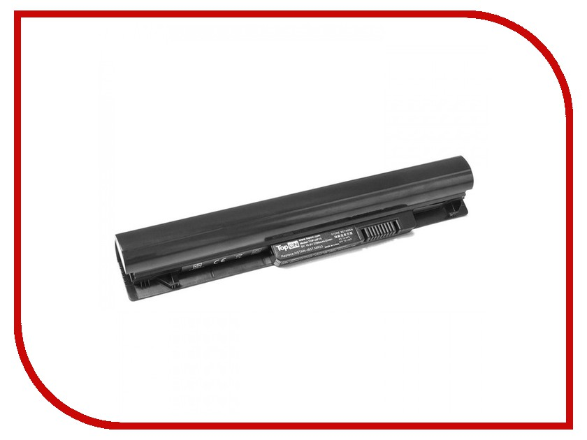 Аккумулятор TopON TOP-MR03 10.8V 2200mAh для HP Pavilion 10 TouchSmart Series аккумулятор topon top k53 для 10 8v 4400mah pn a32 k53 a42 k53 a43ei241sv sl