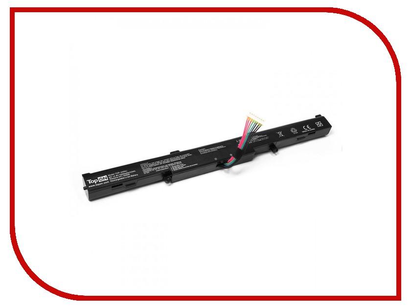Аккумулятор TopON TOP-X450J 14.8V 2200mAh для ASUS A450E/A450J/A450JF/X450/X450E/X450J/X450JF Series аккумулятор topon top s10h 11 1v 7200mah