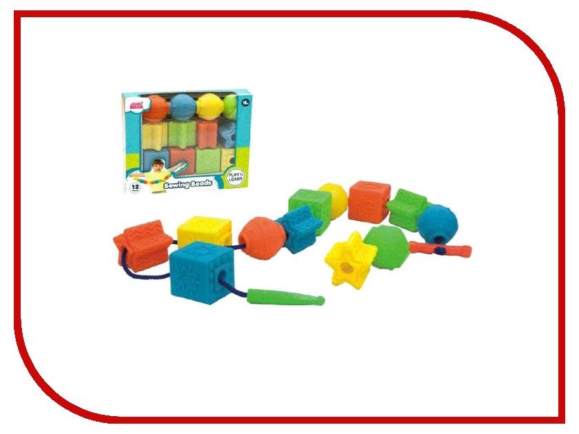 Набор для творчества Little Hero Гигантские бусы 3052 мячики little hero сенсорные мячики